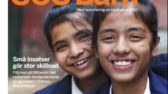 Insatser som gjorde stor skillnad 2011 – nya numret av SOS Barn summerar