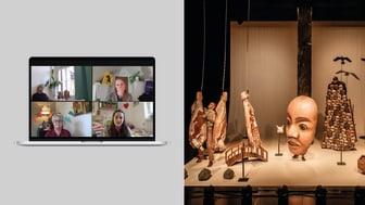 Föreställningarna Trädgårdsgatan och Innan jorden blev rund finns att se digitalt fram till 30 juni.