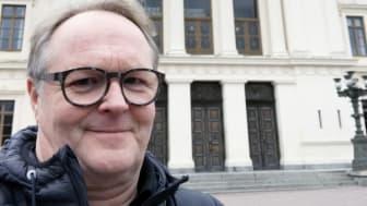 Andreas Blomberg, FOJAB. Nyutsedd husarkitekt och generalkonsult för universitetshusen i Lund.