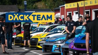Däckteam Trophy, STCC TCR Scandinavia. Foto: Anders Helgesson
