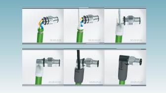 Advanced shielding technology för signal, data och kraft kablage