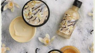 Warm Vanilla range