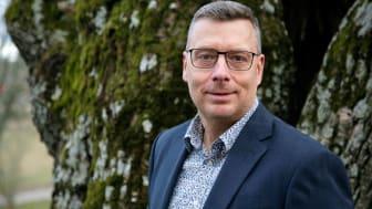 Tomas Frändén, vd för Fidelix AB och Larmia Control AB
