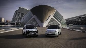 Fiat Panda Hybrid og Fiat 500 Hybrid