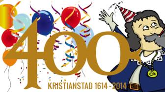 Nu fyller Kristianstad 400 år