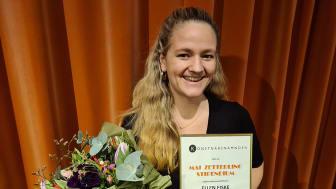 Mai Zetterling utdelningen till Ellen Fiske. Foto: Tina Pettersson.