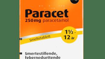 Paracet® 250mg smeltetabletter