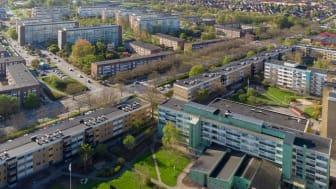 Törnrosen och Örtagården, Rosengård i Malmö