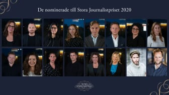 De kan vinna Stora Journalistpriset 2020