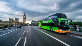 FlixBus lanserar ett inrikes nätverk i Storbritannien