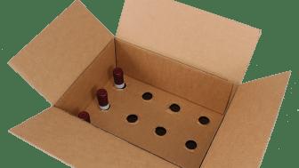 WineFamly's forsendelsesemballage.
