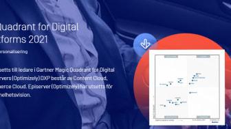 Episerver (Optimizely) ledare i Gartner Maqic Quadrant for Digital Experience Platforms