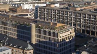 Modern arbetsplats som inbjuder till ökad interaktion mellan Groth & Co och deras uppdragsgivare
