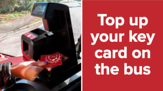 On-bus key top-ups