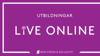 Utbildningar live online våren 2021 - livsmedelsindustri