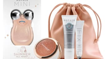 NuFACE Mini Shimmer All Night