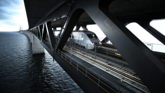Starkt ökat resande får SJ att utöka trafiken till Köpenhamn i två etapper