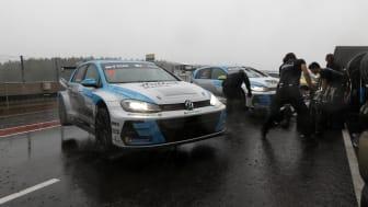 Andreas Wernersson snabbast innan stormen Knud stoppar kvalet till STCC-finalen