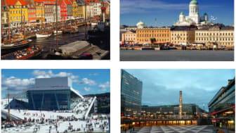 Fyra städer