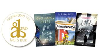 Eli Åhman Owetz Brevvännerna, Joyce Carol Oates Mitt liv som råtta och Kate Quinns Jägarinnan nominerade till Årets bok!