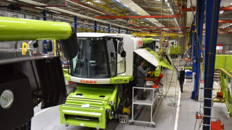 LEXION production in Harsewinkel