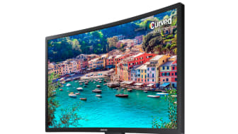 Samsung udvider sit sortiment af skærme med en ny serie af buede modeller