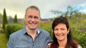 Niclas och Ulrica Björklund driver Selfcheck som utför brandskyddskontroller av hotell mm - efterfrågan av verktyget har ökat under Coronapandemin!