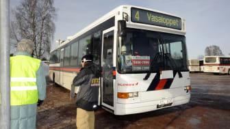 Trafiken fungerade över förväntan under Vasaloppets vintervecka 2012