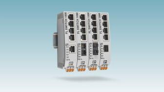1000-serien av unmanaged switchar nu med fiberoptiska portar #network #phoenixcontact #networkedbyphoenix #industrielethernet