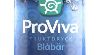 Nykomling, men inget vanligt blåbär – ProVivas smakfavorit nu i on-the-go-flaska