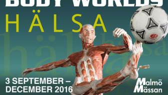 Varmt välkommen på pressvisning av utställningen Body Worlds Hälsa!