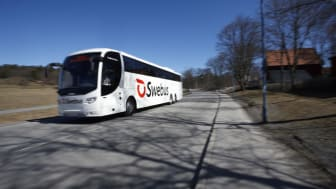 Fler flygturer och bättre hållplatser i Swebus nya vårtidtabell