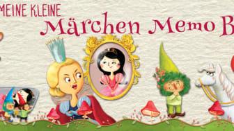 Es war einmal... Märchen-Memo für Kinder ab 4 Jahren