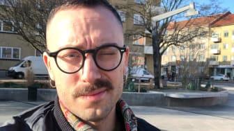"""Peter Avento är öppen med att leva med hiv. """"Det beslutet är något jag i de allra flesta fall inte ångrar över huvud taget."""""""