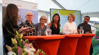 Svensk Byggtjänsts mingel i Almedalen 2019