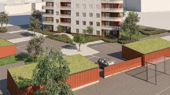 MVB bygger Vänersborgs nya landmärke