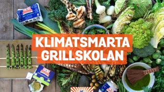 Med en klimatsmart grillskola vill Kung Markatta få svenskarna att lägga mer grönsaker på grillen - det är positivt både för hälsan och miljön. Dessutom blir det riktigt gott!