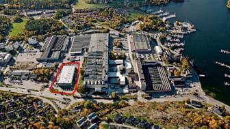 Förvärv av fastighet i Fabriksstaden, Gustavsberg.