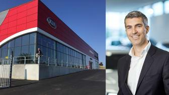 Bavaria satser med Kia i Malmø; konsernsjef Bavaria Nordic, Jacob Tveraabak