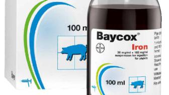 Baycox®Iron – en ny kombi-injektion mot järnbrist och koccidios hos smågris