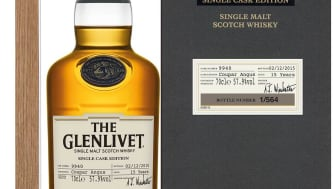 Lansering av The Glenlivet Single Cask Edition - Coupar Angus 6 maj
