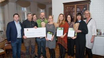 Interna miljöpriset tilldelas pedagoger och naturguider för sitt arbete med barn och unga