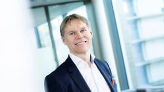 Foto: RIFs nye styreleder Ole-Petter Thunes (Foto: Rambøll)