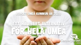 Centerpartiets budgetförslag: Ett hållbart alternativ för hela Umeå