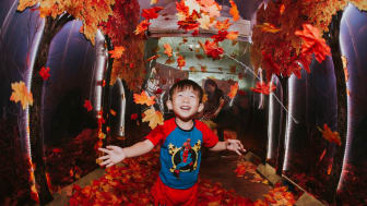 Changi Airport charms visitors with its annual year-end event, A Frozen Wonderland at Changi