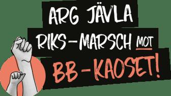 Arg jävla riksmarsch mot BB- kaoset i Göteborg