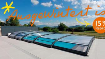 Poolhalle / Poolüberdachung © Desjoyaux