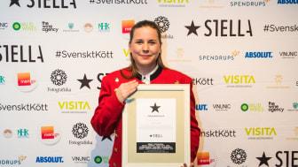 Frida Nilsson från MJ's blev vald till Stella Kock 2019. Foto: Madeleine Landley.