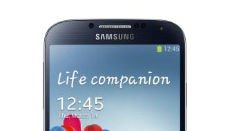 Samsung visar upp Galaxy S4, en vän som berikar ditt liv