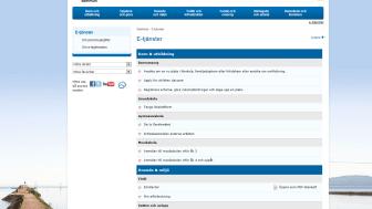 Lidköpings kommun nominerad till e-tjänstpris
